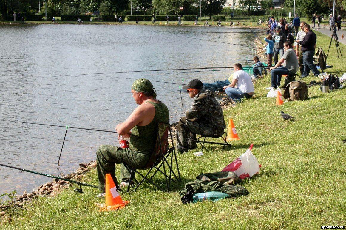Рыболовные соревнования в россии