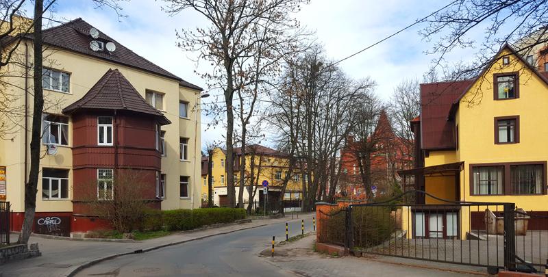 Старые улицы Калининграда