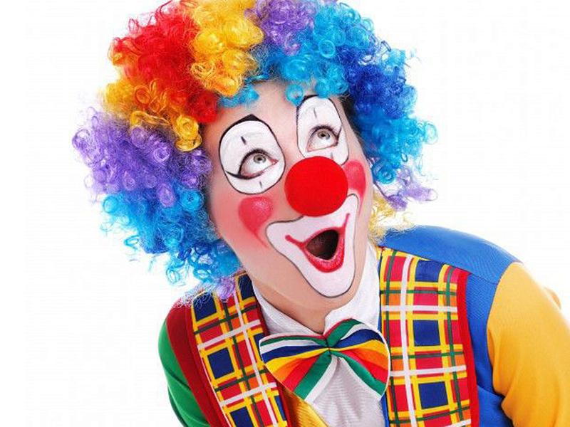 Грим в домашних условии клоуна
