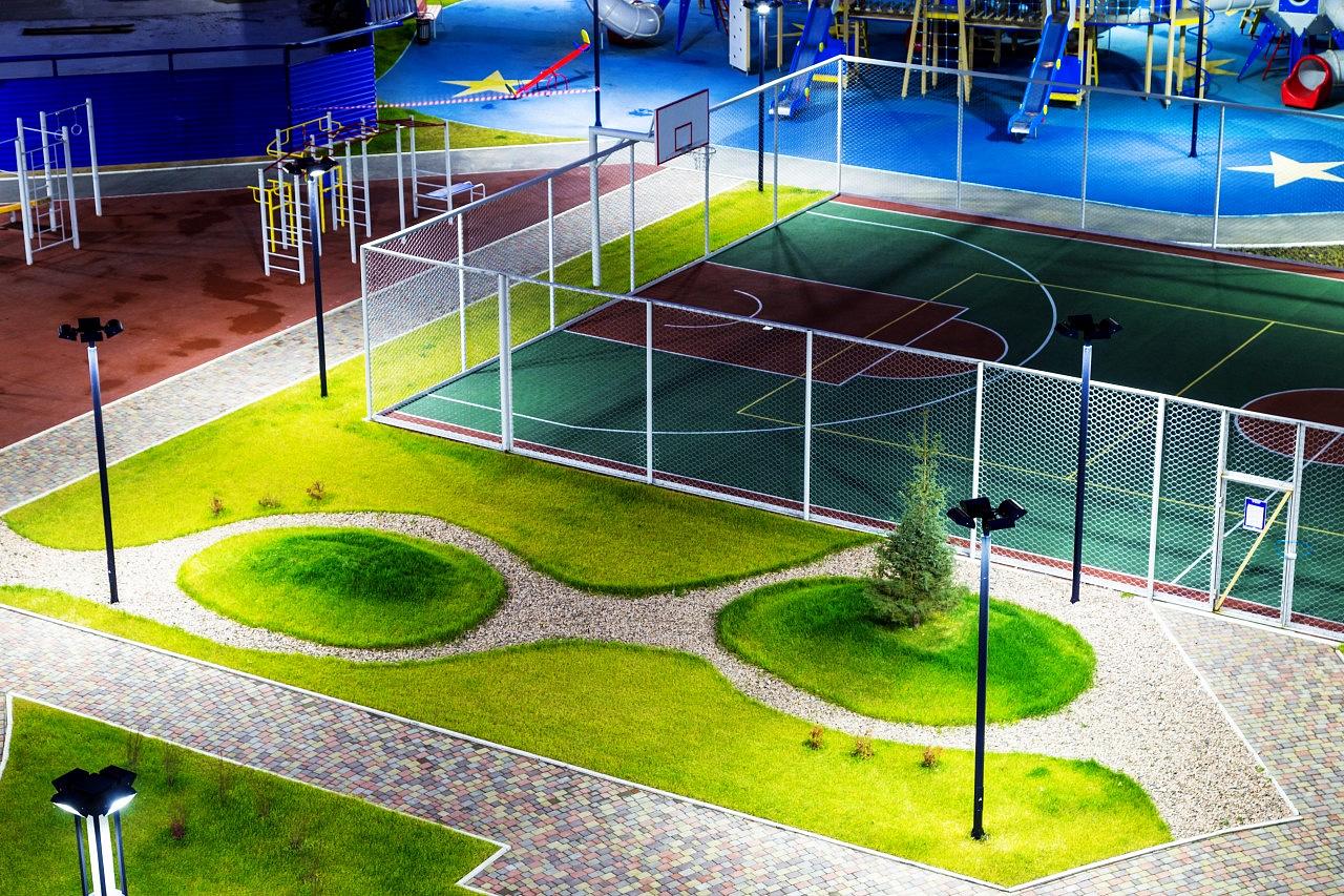 кисти придают картинки спортивных площадок у школы самых